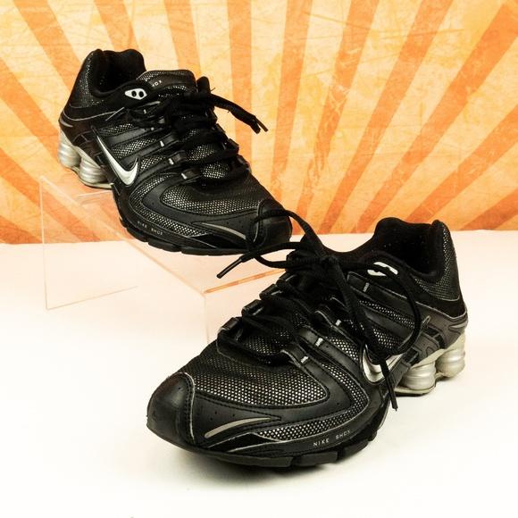 ae89fd8abc3 Nike Shox Shoes Navina Sparkle Black Running Sz 7.  M 5c4b57192e14780fe62abaaa